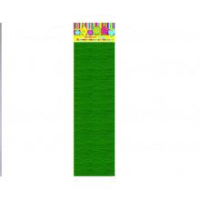 Бумага Креп т.-зелен. 22г/м2 50*250 см 1 лист Феникс
