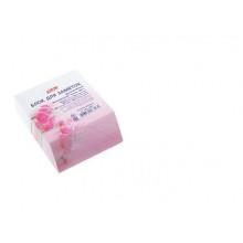 Бумага д/зап. цветная 92*110мм на клею, кос.срез Розовая орхидея  Hatber