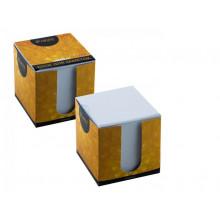 Бумага д/зап. белая 9*9*9см iFRESH-апельсин  Hatber в картон. блоке