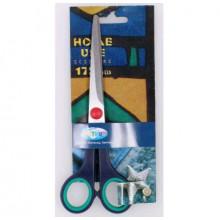 Ножницы 17,5 см HOME USE 80241 с резин. вставками  Centrum