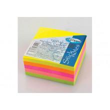 Бумага клейкая 38*38мм 36л 5неон цвет Centrum