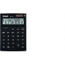 Калькулятор UNIEL карманный UD-151K 12 разр. 102х60х12мм