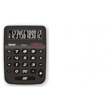 Калькулятор UNIEL настольный средн. UD-24DK белые цифры12 разр. 125*112*24мм