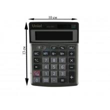 Калькулятор UNIEL настольный средн. UD-301 12 разр 135*100*30мм
