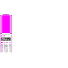 Калькулятор UNIEL карманный UK-12L 8 разр. 102х60х12мм