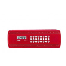Калькулятор UNIEL карманный UK-53R линейка 194х68х27