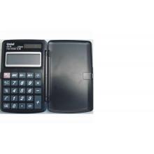 Калькулятор UNIEL карманный UL-15K 10 разр. 117*74*10 чёрный пл. крышка