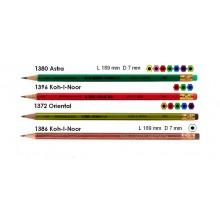 Карандаш графитный KIN Astra 1380 с ластик.