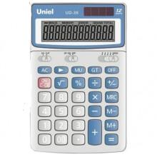 Калькулятор UNIEL настольный средн. UD-35 12 разр 172*107*26мм
