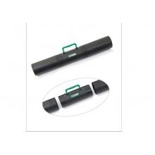 Тубус с ручкой 3-х секционный D100мм. L650мм. черный