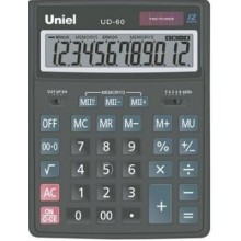 Калькулятор UNIEL настольный больш. UD-60 12 разр. 206*155*35 (аналог 2315)