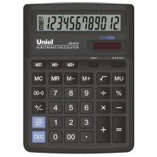 Калькулятор UNIEL настольный больш. UD-610 12 разр.193*143*38мм
