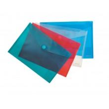 "Папка на липучке A4 ""Envelope"" Erich Krause прозр. 0,16мм"