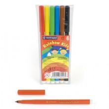 Фломастеры 24цв. 7550/24  ТП Rainbow Kids  Centropen в пласт. упаковке