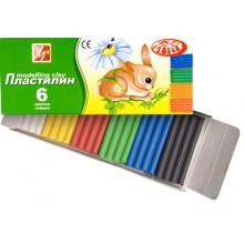 "Пластилин 6цв. ""ZOO""   Луч 81 гр"